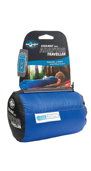 Sea to Summit Coolmax Adaptor Traveller Liner sky blue
